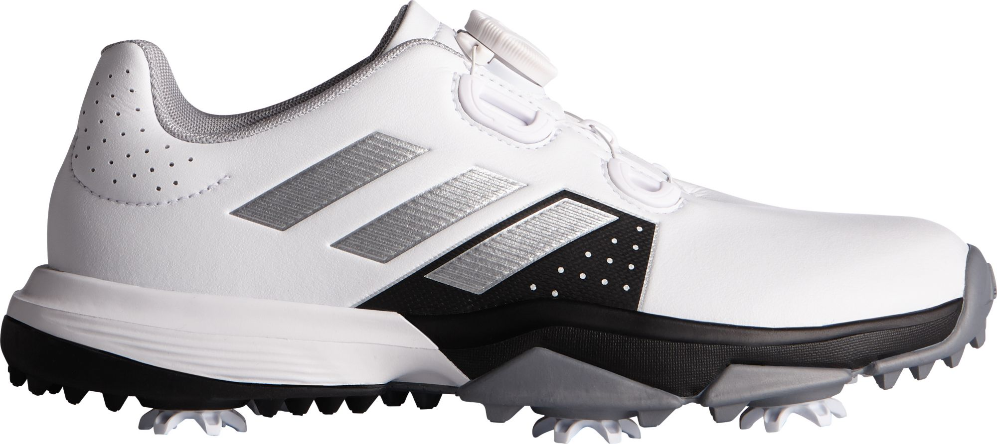 adidas Jr. adipower BOA Golf Shoes, Kids, White