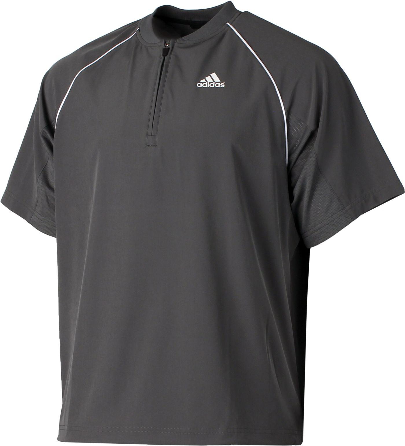 adidas Men's Triple Stripe Pullover Jacket