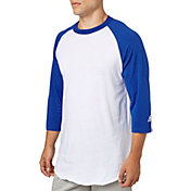 adidas Adult Triple Stripe ¾ Sleeve Baseball Practice Shirt