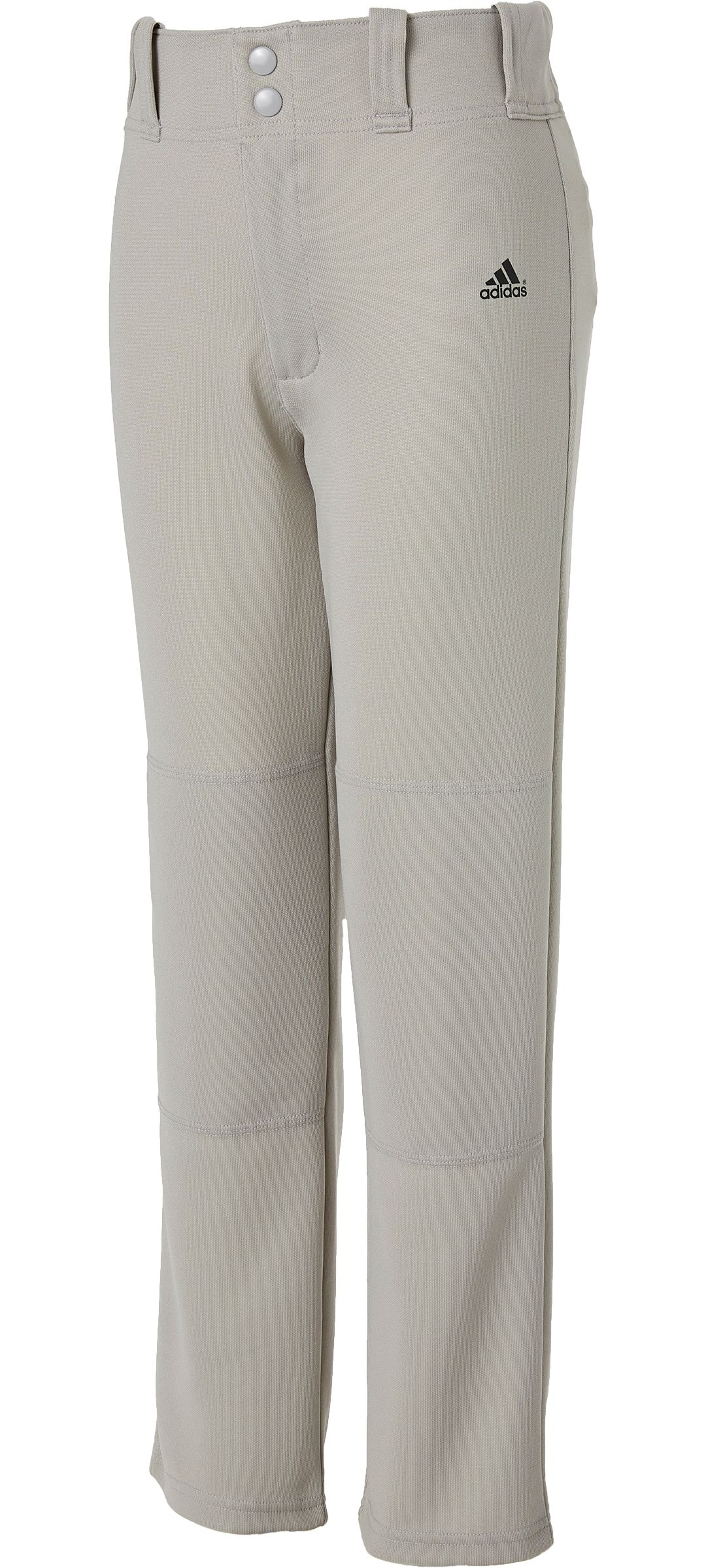 f214e1826 adidas Boys' Triple Stripe Open Bottom Baseball Pants   DICK'S ...
