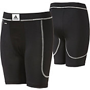 adidas Boys' Incite Sliding Shorts w/ Cup