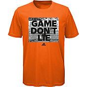 adidas Boys' Game Don't Lie Graphic Basketball T-Shirt