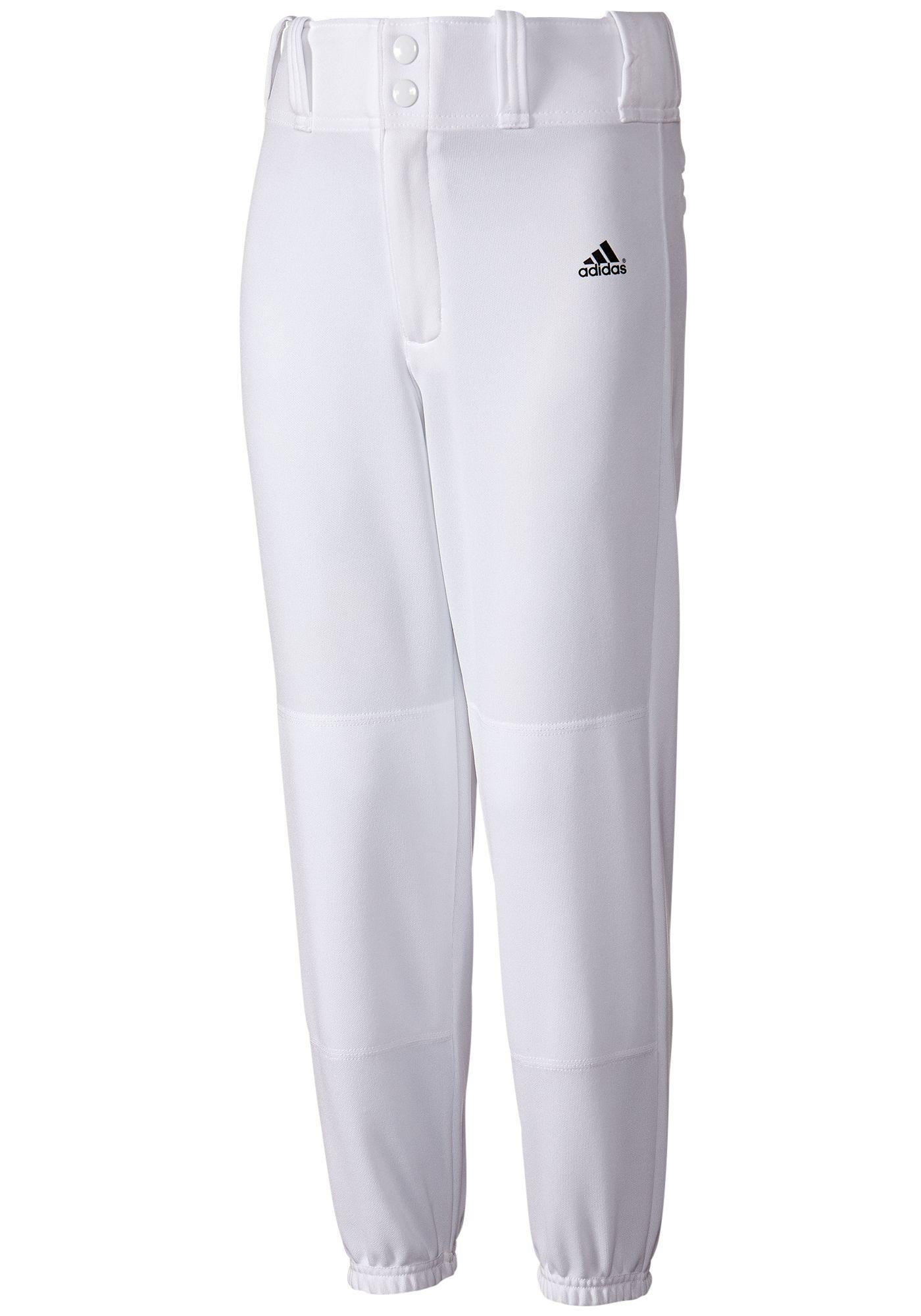 adidas Boys' Incite Closed Bottom Baseball Pants