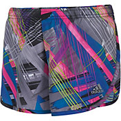 adidas Girls' Breakaway Print Woven Shorts