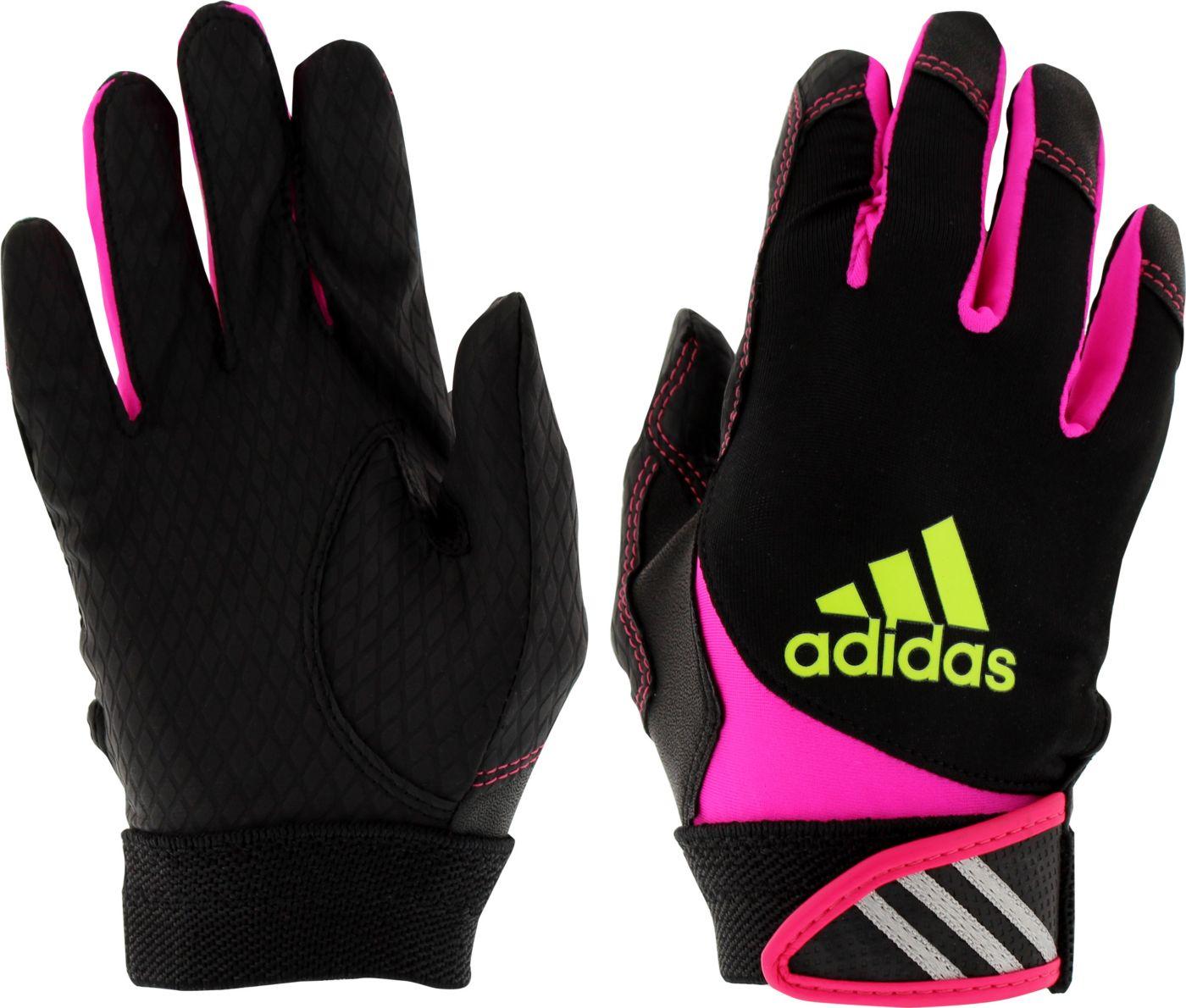 adidas Girls' T-Ball Batting Gloves
