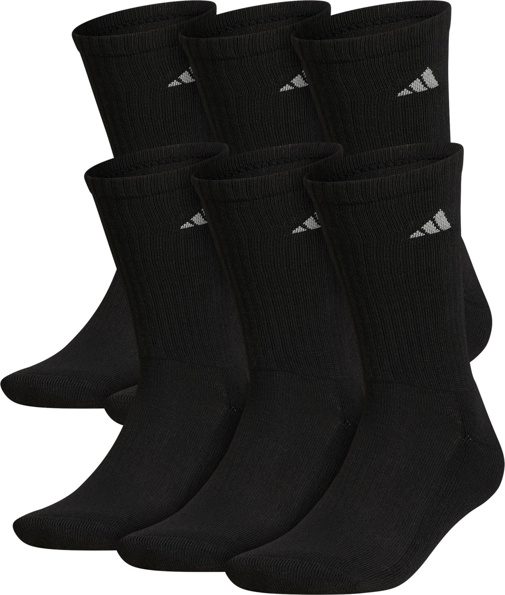 1f759841e adidas Men's Athletic Crew Socks 6 Pack | DICK'S Sporting ...