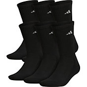 adidas Men's Athletic Crew Socks - 6 Pack