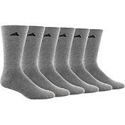 adidas Men's Athletic Crew Socks 6 Pack
