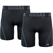"adidas Men's Sport Performance climacool 9"" Midway Briefs - 2 Pack"