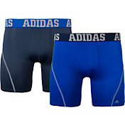 adidas Men's Sport Performance climacool Solid 5'' Boxer Briefs 2 Pack