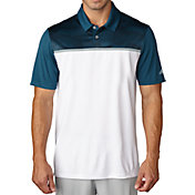 adidas Men's climacool Blocked Print Polo