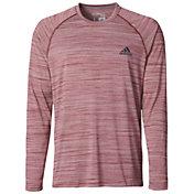adidas Men's Ultimate Melange Long Sleeve Shirt