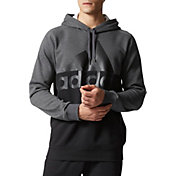 adidas Men's Exult Split Logo Graphic Hoodie