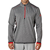 adidas Men's climaheat Fleece Quarter-Zip Golf Pullover