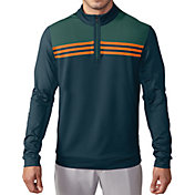 adidas Men's climacool Colorblock 1/4-Zip Layering Top