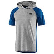 adidas Men's Ultimate Short Sleeve Hooded Tee