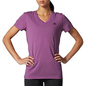 adidas Women's Ultimate 2.0 Double Dye V-neck T-Shirt