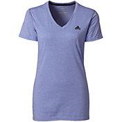 adidas Women's Ultimate 2.0 Double Dye V-neck T-Shirt