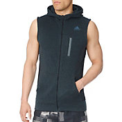 adidas Men's Ultra Energy Fleece Hooded Running Vest