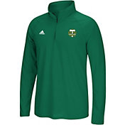 adidas Men's Portland Timbers Ultimate Green Quarter-Zip Shirt