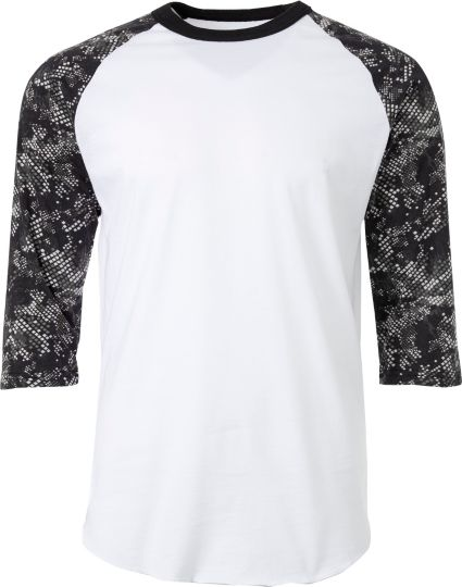 ca280b206e5 adidas Men s Triple Stripe Printed ¾ Sleeve Practice Shirt. noImageFound