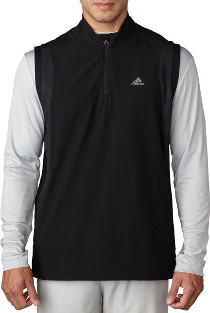 adidas Performance Stretch 1/2-Zip Wind Vest