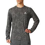 adidas Men's Aeroknit Decoy Burnout Long Sleeve Shirt