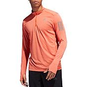 adidas Men's Response Running Half Zip Long Sleeve Shirt