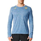adidas Men's 2016 Boston Marathon Supernova Long Sleeve Running Shirt