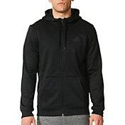 adidas Men's Team Issue Fleece Full Zip Hoodie