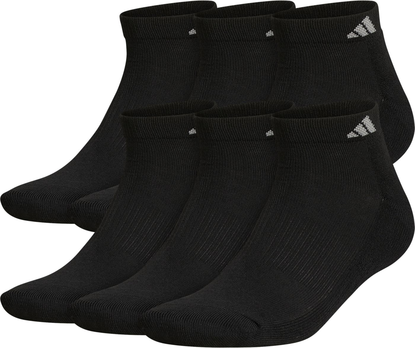 adidas Men's Athletic Low Cut Socks - 6 Pack
