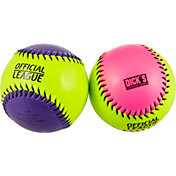 "DICK'S Sporting Goods 11"" Game Stopper Training Fastpitch Softball – Assorted Colors"