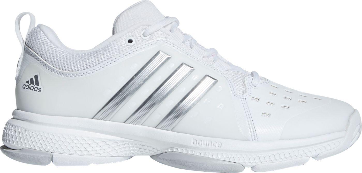 adidas Women's Classic Barricade Bounce Tennis Shoes