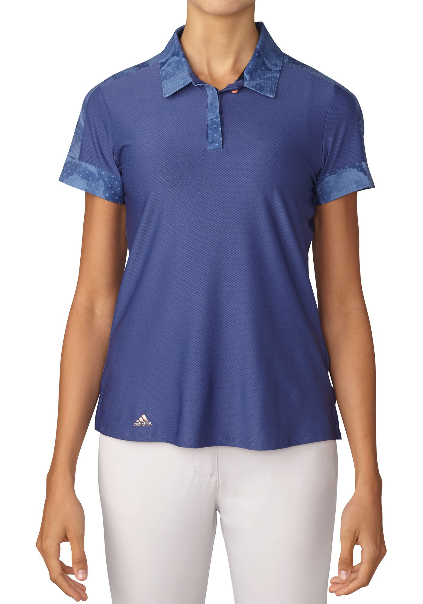 adidas Women's Sport Print Golf Polo