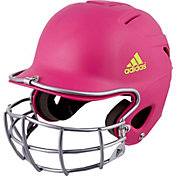 adidas OSFM Destiny Fastpitch Batting Helmet w/ Mask