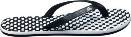 e4e12aa9ab34c2 adidas Women s Eezay Dots Flip Flops