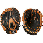 "adidas 9.5"" T-Ball Triple Stripe Glove"