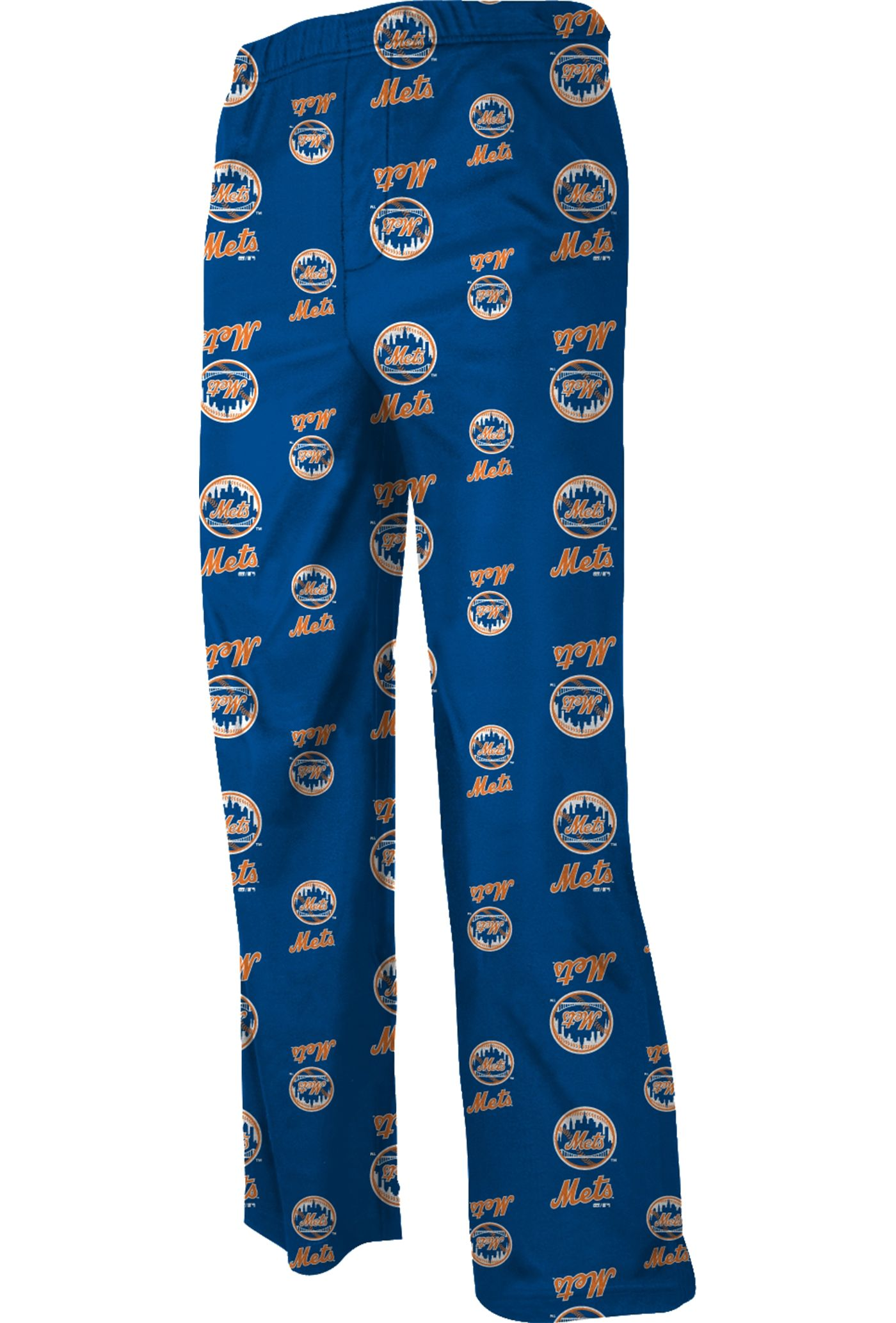 Majestic Youth New York Mets Team Logo Pajama Pants