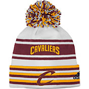 adidas Youth Cleveland Cavaliers Cuffed Pom Knit Hat