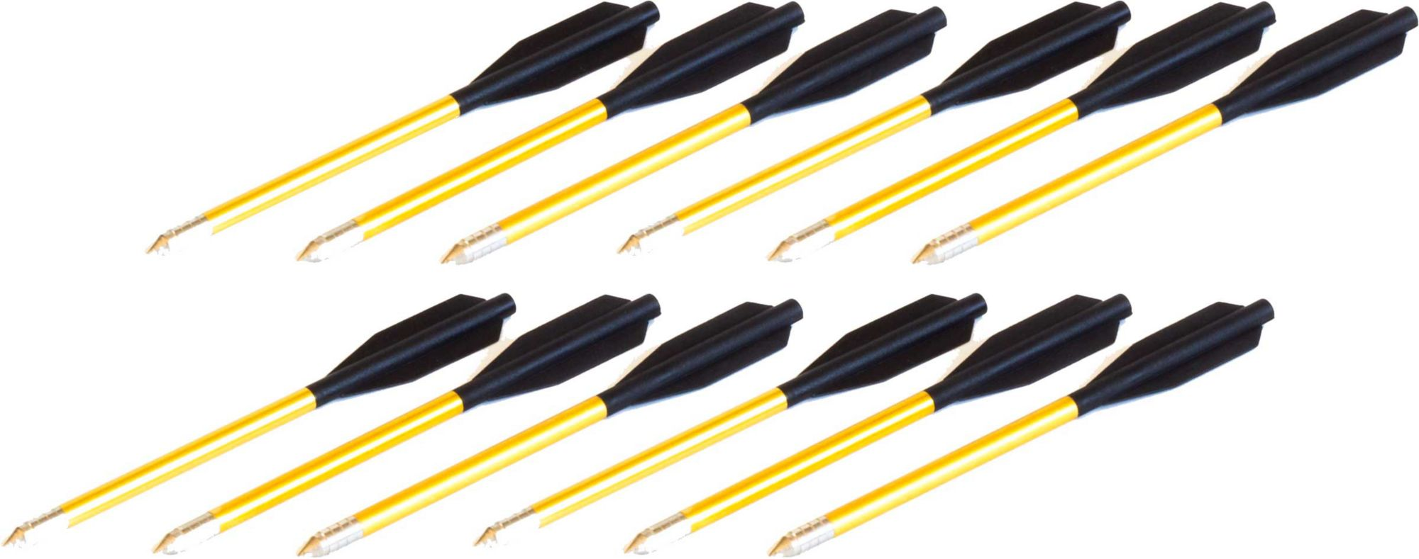 BOLT Crossbows Aluminum Crossbow Bolts - 12 Pack thumbnail