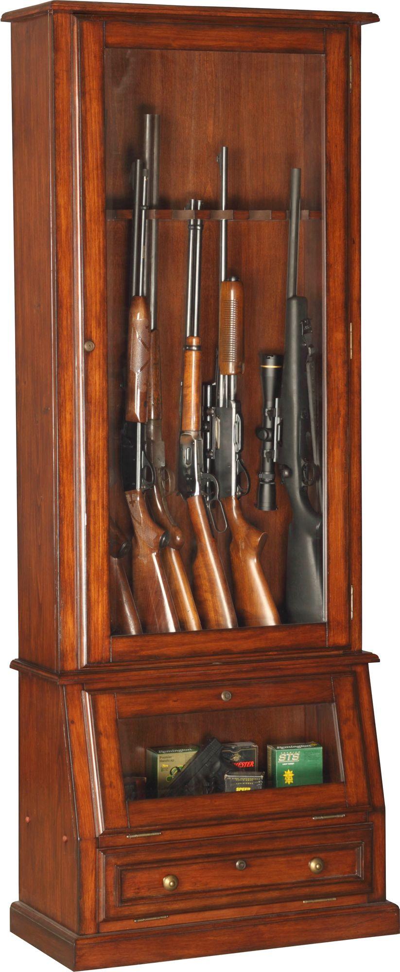 American Furniture Classics 12 Gun Slanted Base Cabinet, Size: Large thumbnail