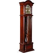 Product Image · American Furniture Classics The Gunfather Clock 6 Gun  Cabinet