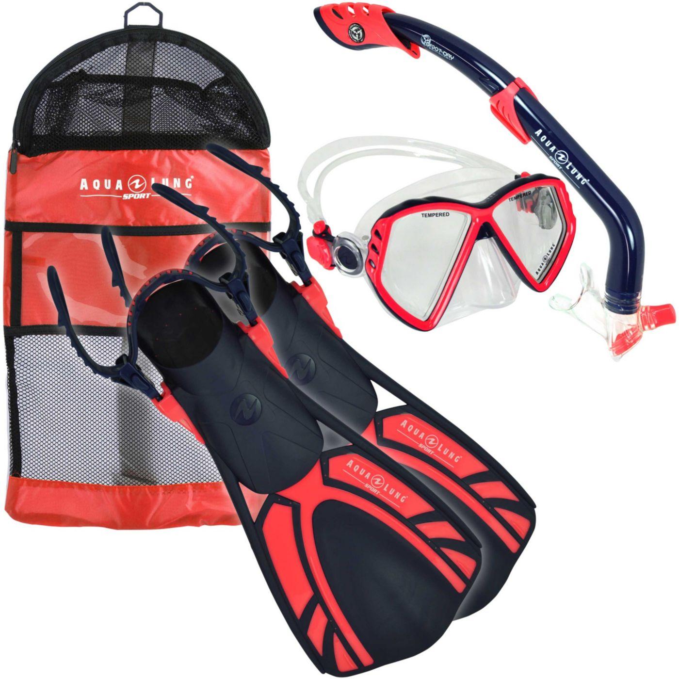 Aqua Lung Sport Jr. 4-Piece Snorkeling Set