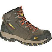 CAT Men's Navigator Mid Waterproof Steel Toe EH Work Boots