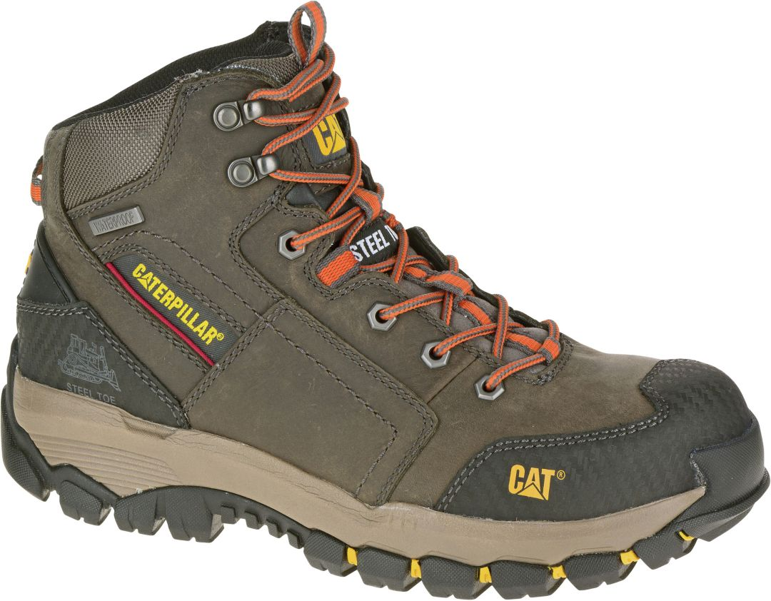 057a6c40453 CAT Men's Navigator Mid Waterproof Steel Toe EH Work Boots