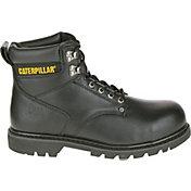 CAT Men's Second Shift Steel Toe EH Work Boots