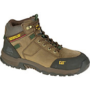 CAT Men's Safeway Mid Steel Toe Waterproof EH Work Boots