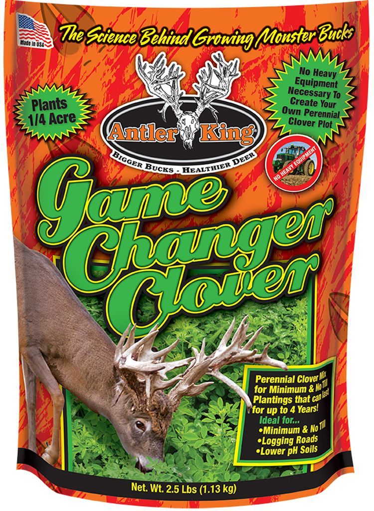 Antler King Game Changer Clover Mix Food Plot Seed thumbnail
