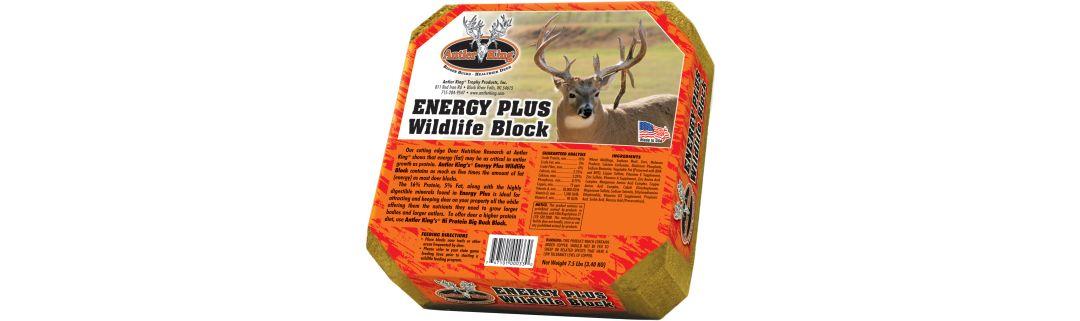 Antler King Energy Plus Wildlife Block Deer Mineral Field Stream