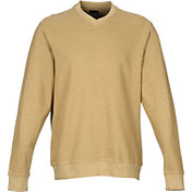 Greg Norman Men's Contemporary V-Neck Golf Sweater